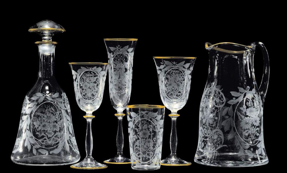 Alsadesign pahare cristal 9